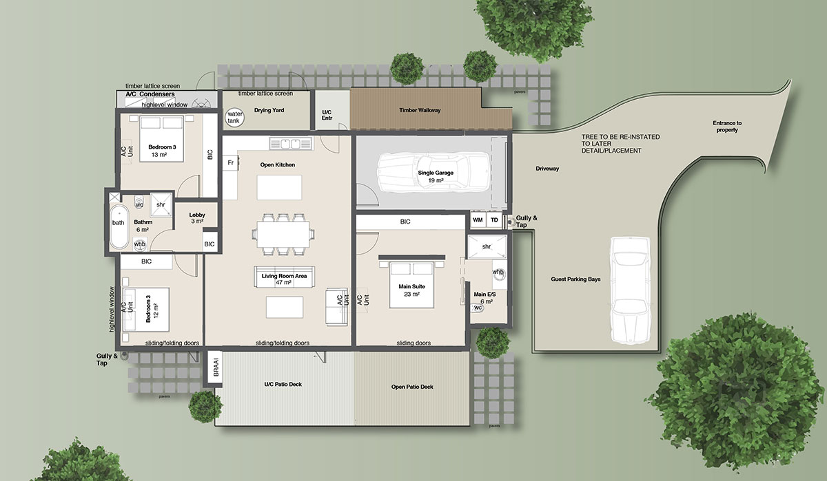 Acacia House Floor Plan