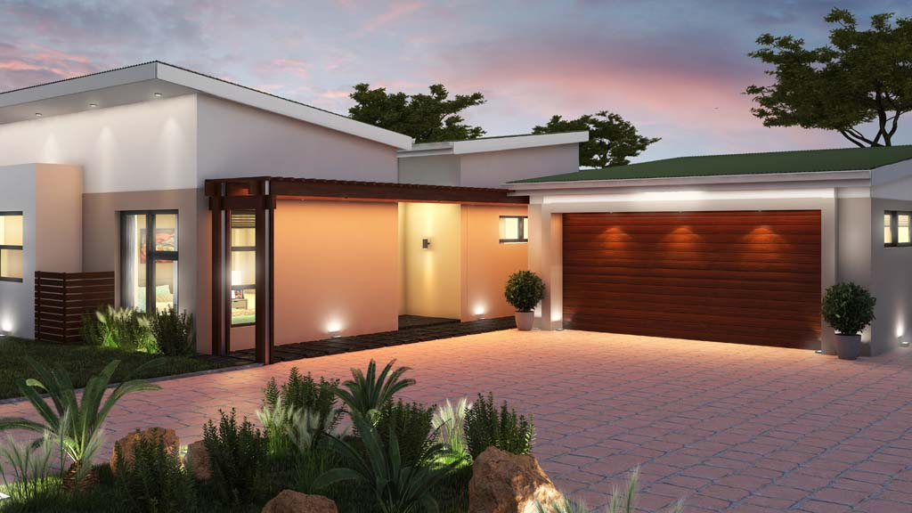 Villa Albizia Entrance And Garage Area Buy