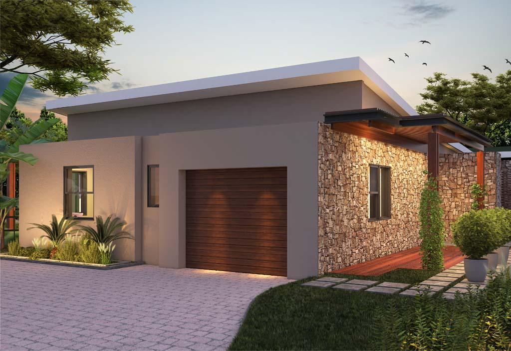 Acacia House Garage And Entrance Area