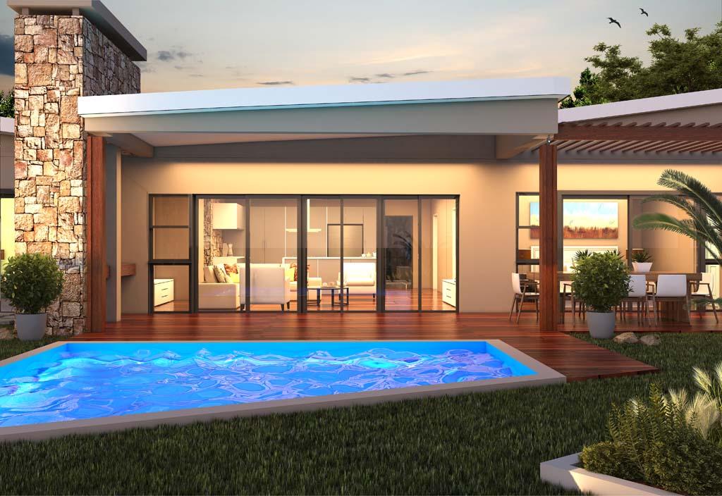 Acacia House Pool And Entertainment Area