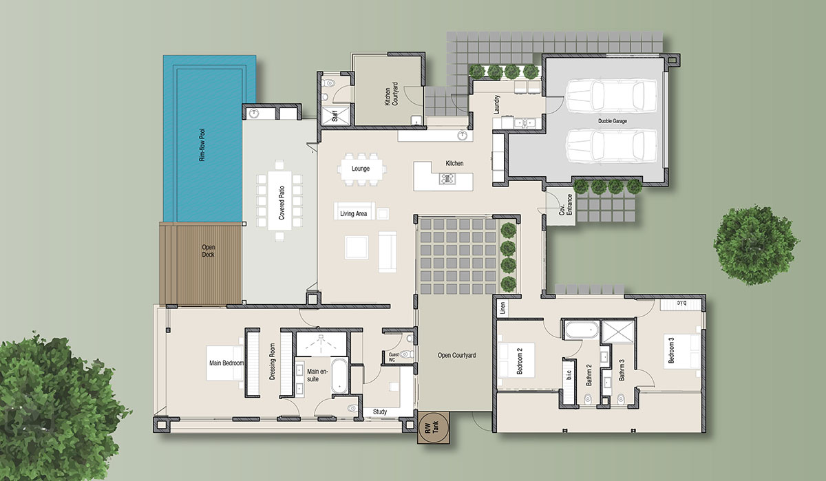 The Sunbird Floor Plan